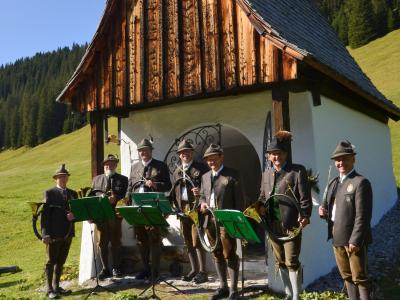 Hubertusfeier Lech